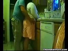 Indian amateur wife fucked while washing dishes